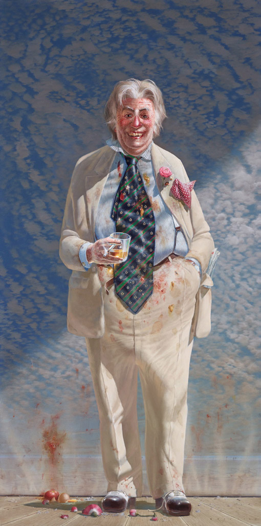 Tim Storrier The Member Dr Sir Leslie Colin Patterson