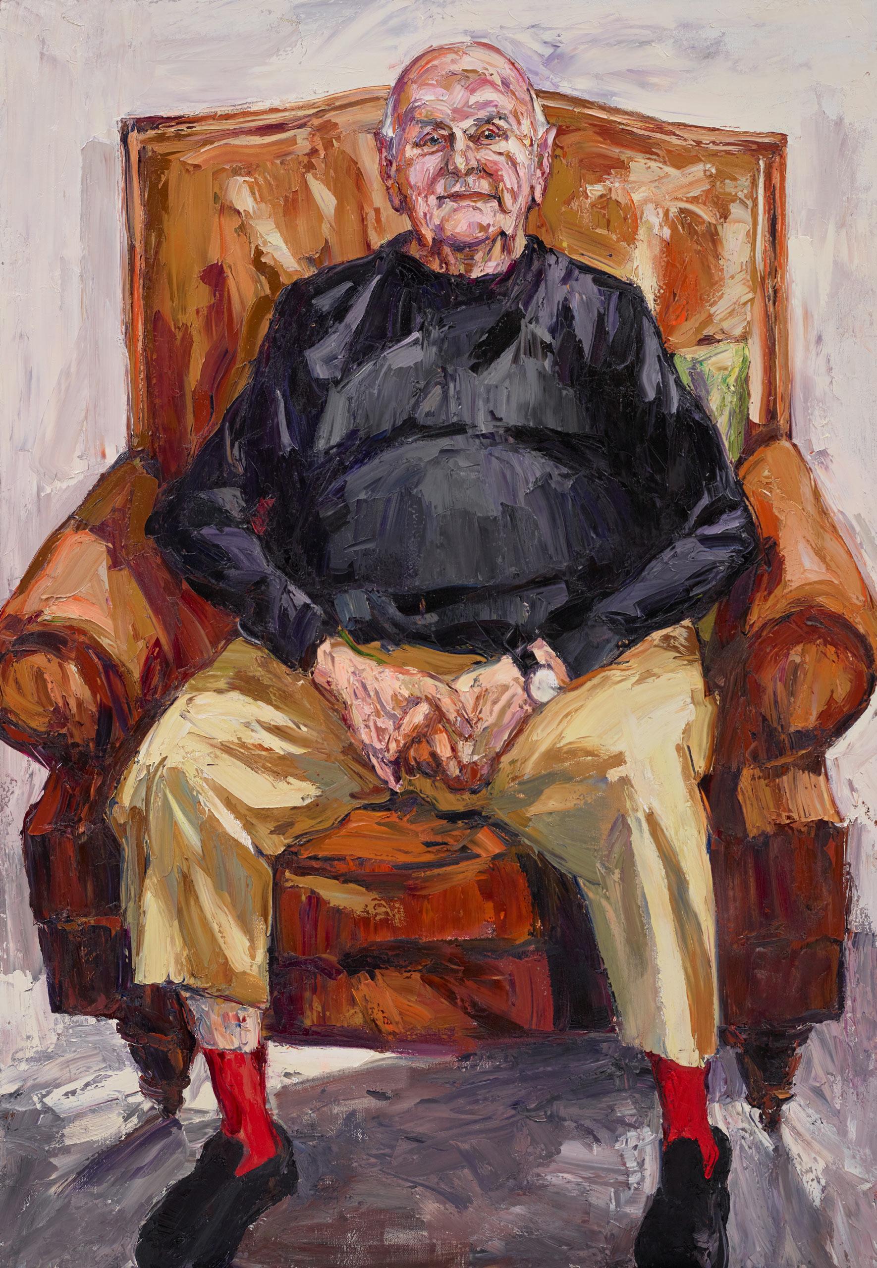 Nicholas Harding John Olsen Ao Obe Archibald Prize