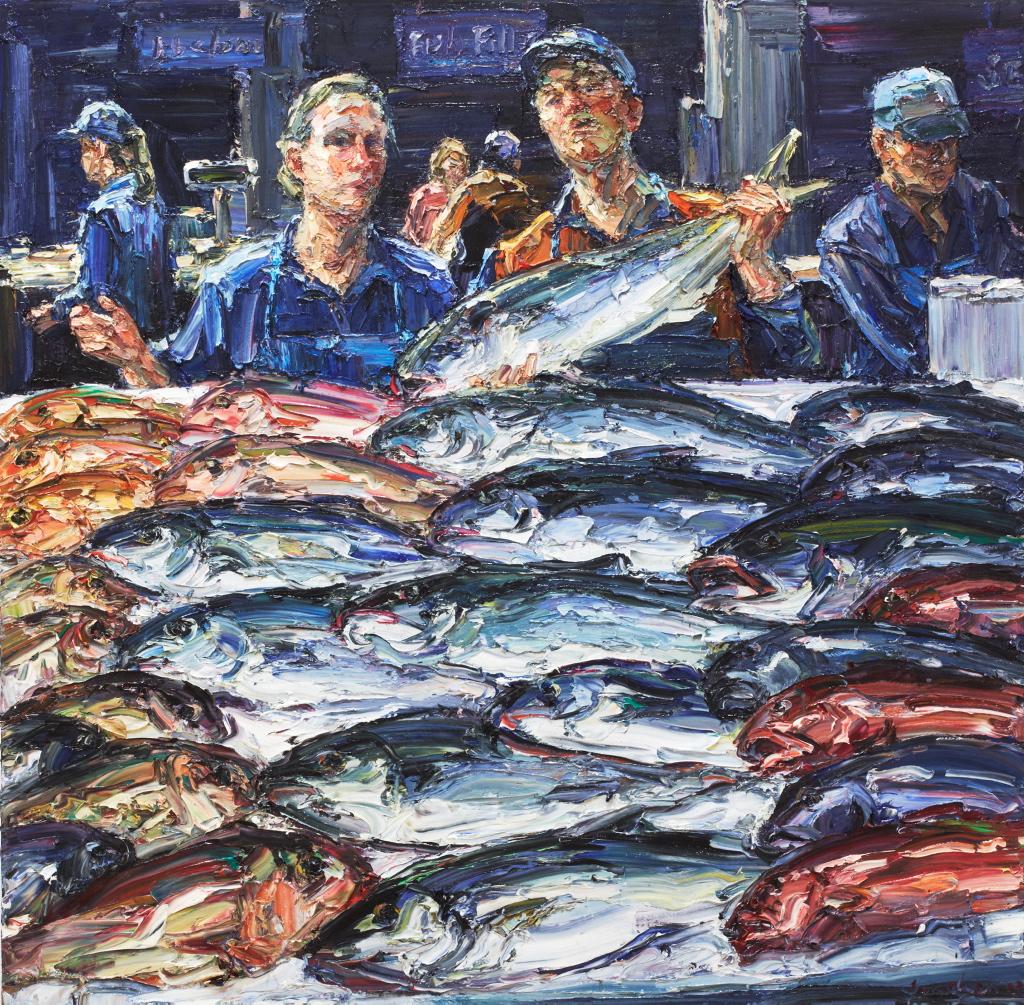 Jun Chen King Fish Ii Sir John Sulman Prize 2013