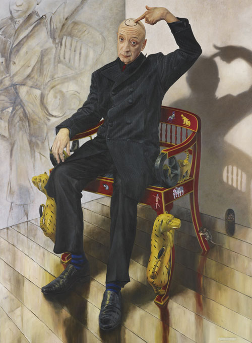 Paul Jackson Flacco S Chariot Archibald Prize 2009