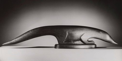 An image of Untitled (wooden sculpture) by Max Dupain