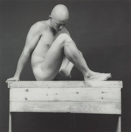 An image of Robert by Robert Mapplethorpe