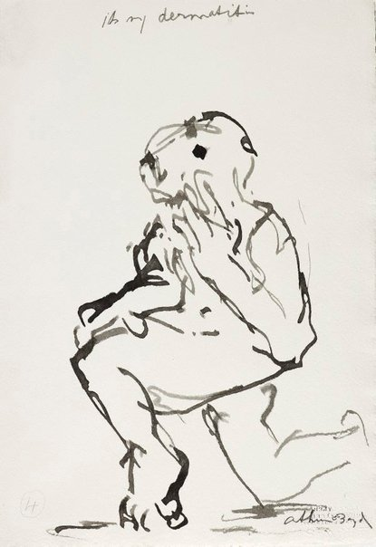 An image of (Illustration for 'Jonah' p.16) by Arthur Boyd