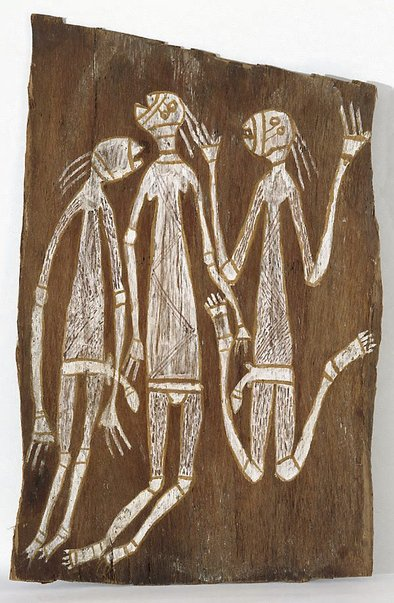 An image of Three Namarndei dancing by Unknown